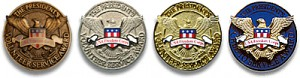 Presidential Volunteer Service Awards Pins
